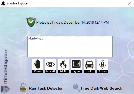 Click to view Zombie Exposer 3.0.0.0 screenshot